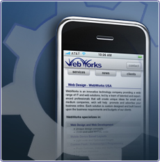 mobile web design houston